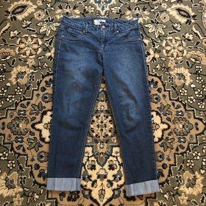 17/21 Exclusive Denim Dark Wash Ankle Jeans size 8
